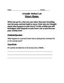 Scientific Method Heart Rate Lab