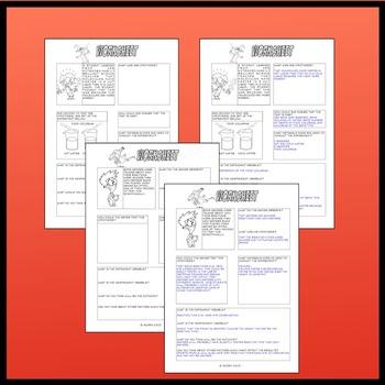 Scientific Method Homework Pack