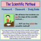 Scientific Method Worksheets, Homework or Study Guide