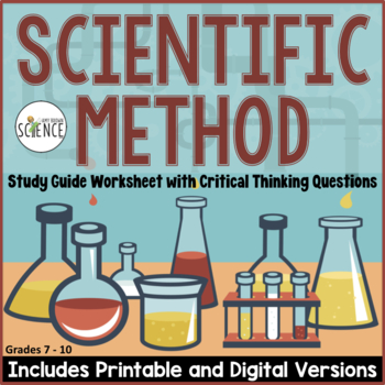 Scientific Method Worksheets Homework Or Study Guide By Amy Brown