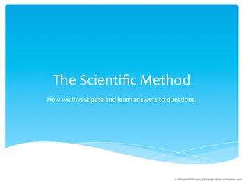 Scientific Method- A Graphic Organizer To Introduce The Scientific Method With