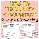 Scientific Method - How to Think Like A Scientist