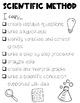 Scientific Method I Can Statements (Editable)