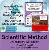 Scientific Method INB & Word Wall