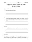 Scientific Method In Action: Thumb War
