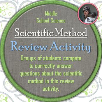 Scientific Method Whole Class Review Activity