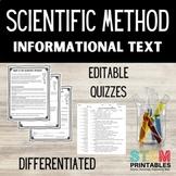 Scientific Method Informational Text | Differentiated Read