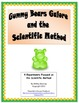 Scientific Method & Inquiry- 4 Gummy Bear Dissolve Matter Science Experiments