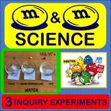 Scientific Method Inquiry Activity M&M's Experiment Matter states introduction
