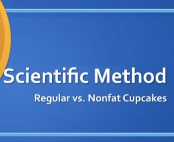 Scientific Method Inquiry Cupcake Experiment