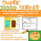 Scientific Method & Inquiry- Factors which influence Dissolving