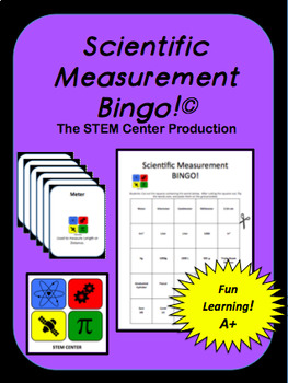 Scientific Method Interactive Notebook & Metric Game