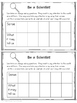 Scientific Method Interactive Notebook Pages/Experiments