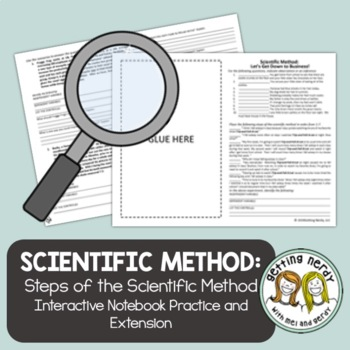 Scientific Method Practice Problems By Getting Nerdy With Mel And