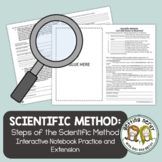 Scientific Method - Practice Problems - Distance Learning