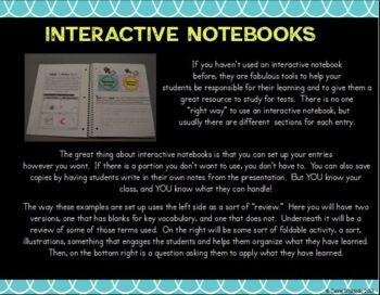 Scientific Method Interactive Notebook Sampler FREE