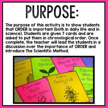 Scientific Method Introduction Activity [Print and Go]