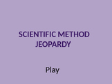 Scientific Method Jeopardy