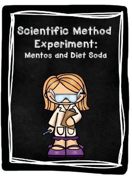Scientific Method Lab Experiment: Soda and Mentos