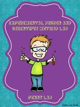 Scientific Method Lab - Middle School - Penny Lab - Identi
