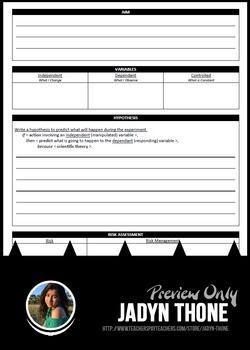 Scientific Method Student Report Booklet