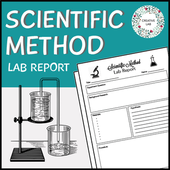 FREE - Scientific Method Lab Report - Student Template