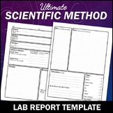 Scientific Method: Lab Report Template for Any Science Experiment