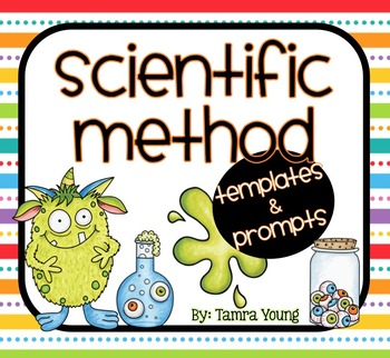 Scientific Method {Lab Report Templates and Prompts}