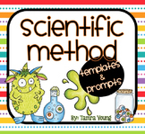 Scientific Method {Lab Report Templates and Prompts}