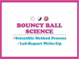 Scientific Method Lab Report Write-Up Using Bouncy Balls