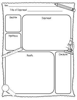{FREEBIE} Scientific Method Lab Sheet (1 Page) {Scientific Method Lab Sheet}