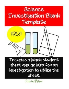 Scientific Method Lab Template