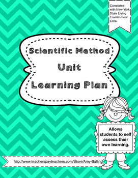 Scientific Method Learning Plan NY Biology (The Living Environment)
