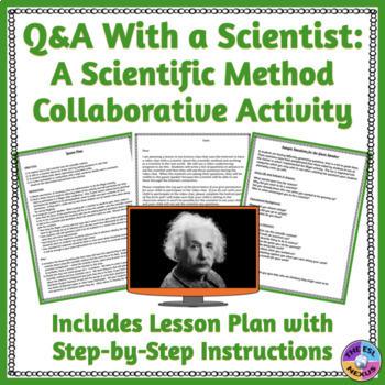Skype With A Scientist Scientific Method Lesson Plan