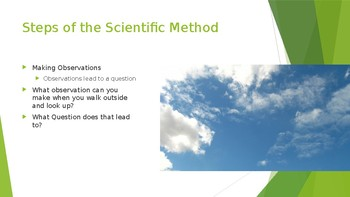 Scientific Method Lesson Presentation