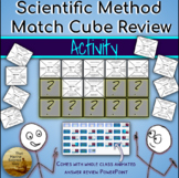 Scientific Method Match Game Collaborative Review w/Key &