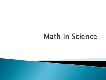 Scientific Method - Math in Science - Interactive Notebook