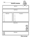 Scientific Method/Método Científico Record Sheet
