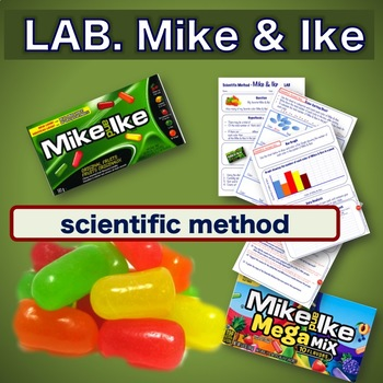 Scientific Method - Mike & Ike Candy Lab- Science Experiment - NO PREP printable