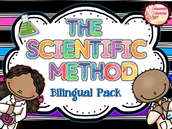 Scientific Method - Método Científico Bilingual Pack **Posters and foldables***