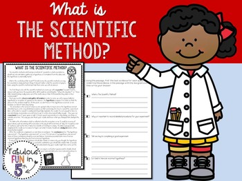 Scientific Method: Nonfiction Passage and Foldable