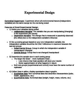 Scientific Method Note Guide