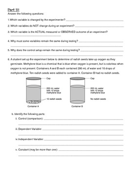 Scientific Method Note Page