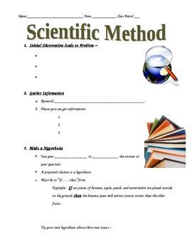 Scientific Method Notes