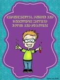 Middle School Scientific Method - Notes - Practice - Crossword
