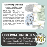 Observation & Inference Interactive Notebook Activity with
