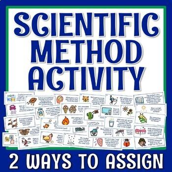 Scientific Method PRACTICE HYPOTHESIS & VARIABLES Worksheet or Homework