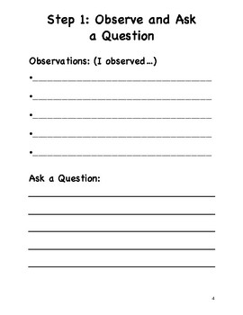 Scientific Method Packet