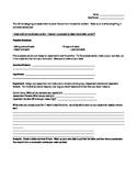 Scientific Method Performance Assessment