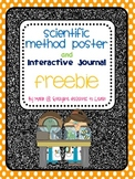 Scientific Method Poster and Interactive Journal Freebie